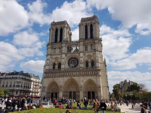 Blick auf den Notre Dame - eine der Sehenswürdigkeiten auf jedem Paris-Trip