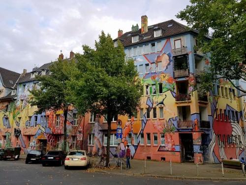 Sehenswürdigkeiten Düsseldorf: Fichtenstraße