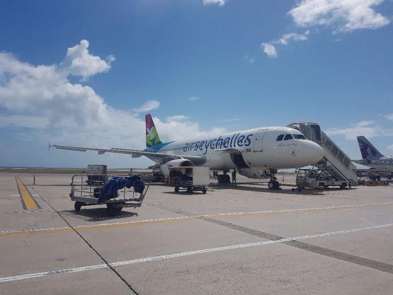 Flugzeug von Air Seychelles