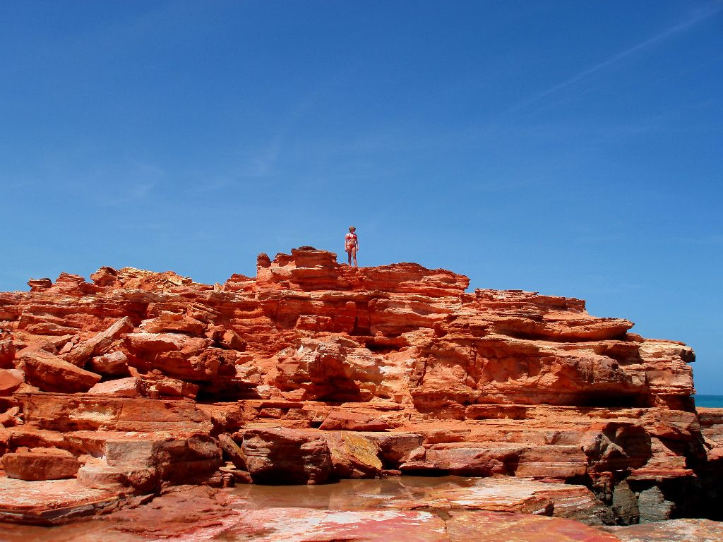 Highlights in Broome in Western Australia: Gantheaume Point