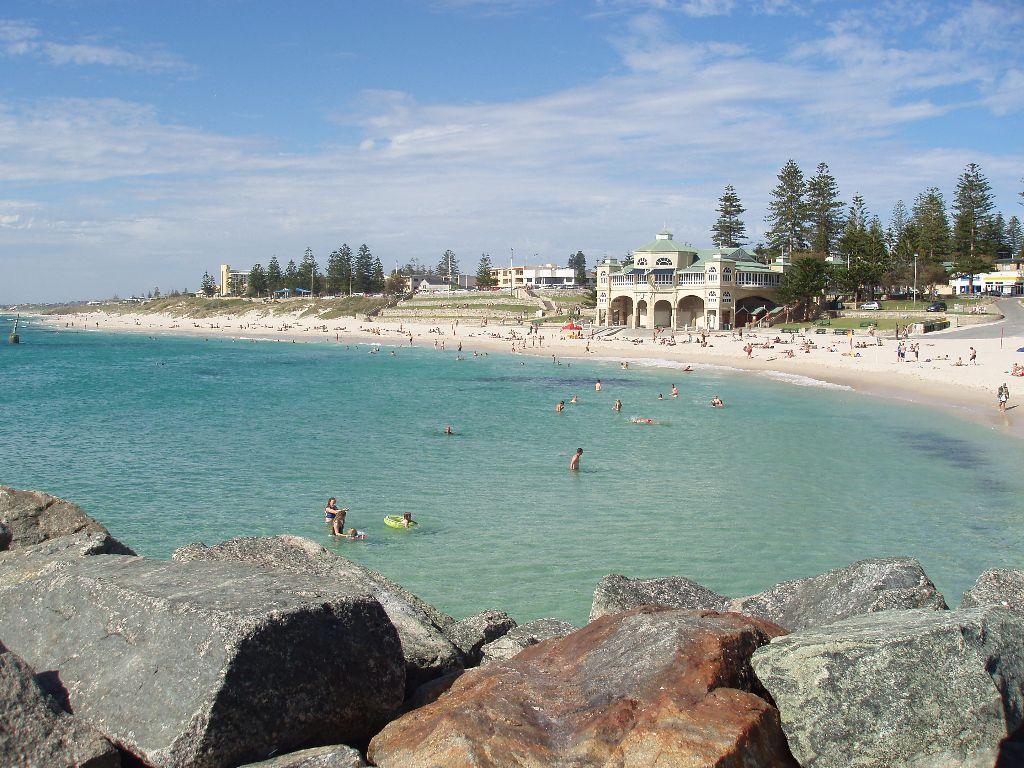 Der Cottesloe Beach ist für mich der schönste Strand in Perth