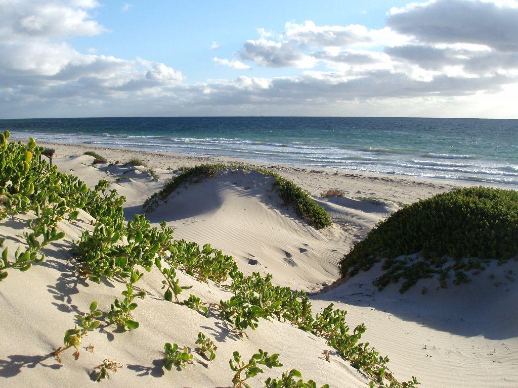 Strand in Geraldton an der Westküste Australiens