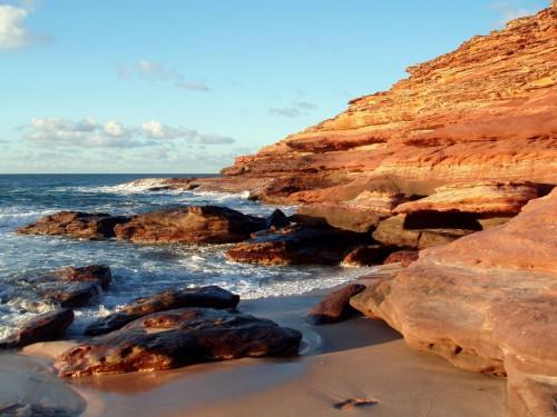 Küste im Kalbarri Nationalpark in Western Australia