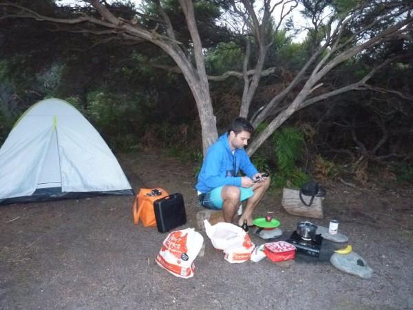 Australien Tasmanien Camping an den Friendly Beaches - Work Travel Balance