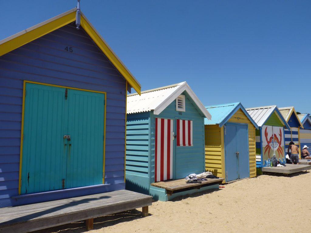 Australien_Melbourne_Brighton Beach