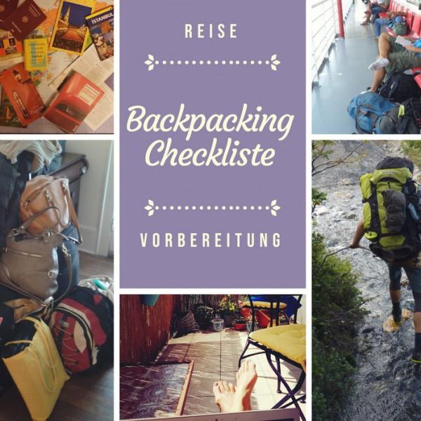 Reise-Checkliste für Backpacking und Reisevorbereitung