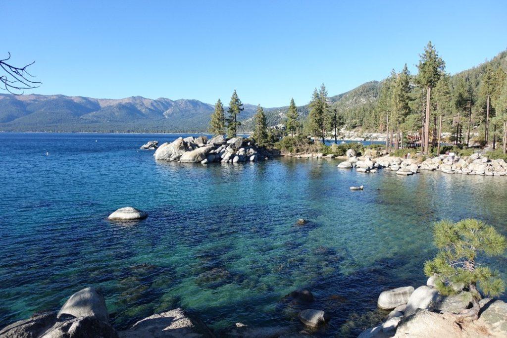 Lake Tahoe ist ein Highlight auf deiner Rundreise durch Kalifornien und Nevada