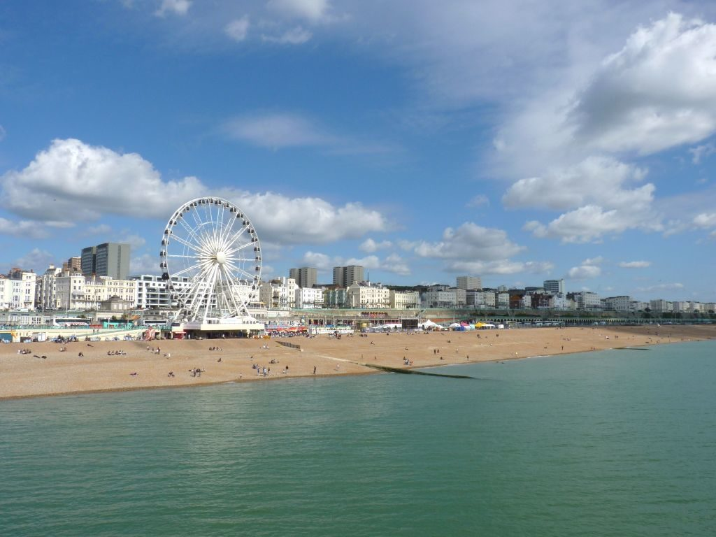 Strand von Brighton - Sehenswürdigkeiten in London