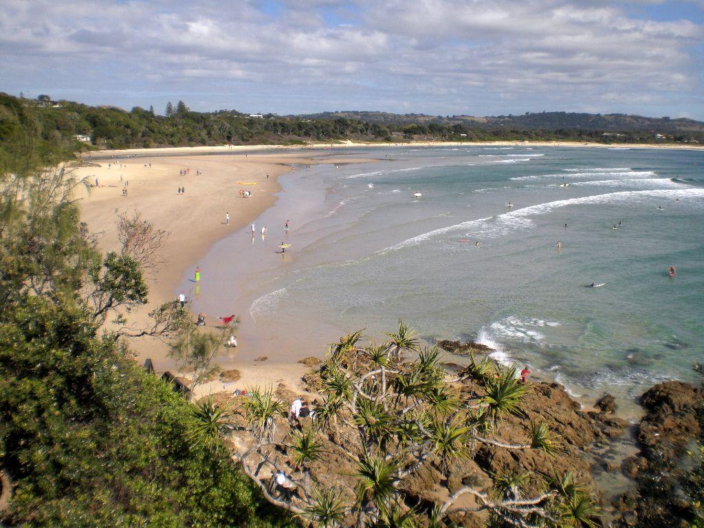Byron Bay - der berühmteste Surfer-Ort der australischen Ostküste- Sehenswürdigkeiten Australien Ostküste – Reiseroute Australien Ostküste im Überblick