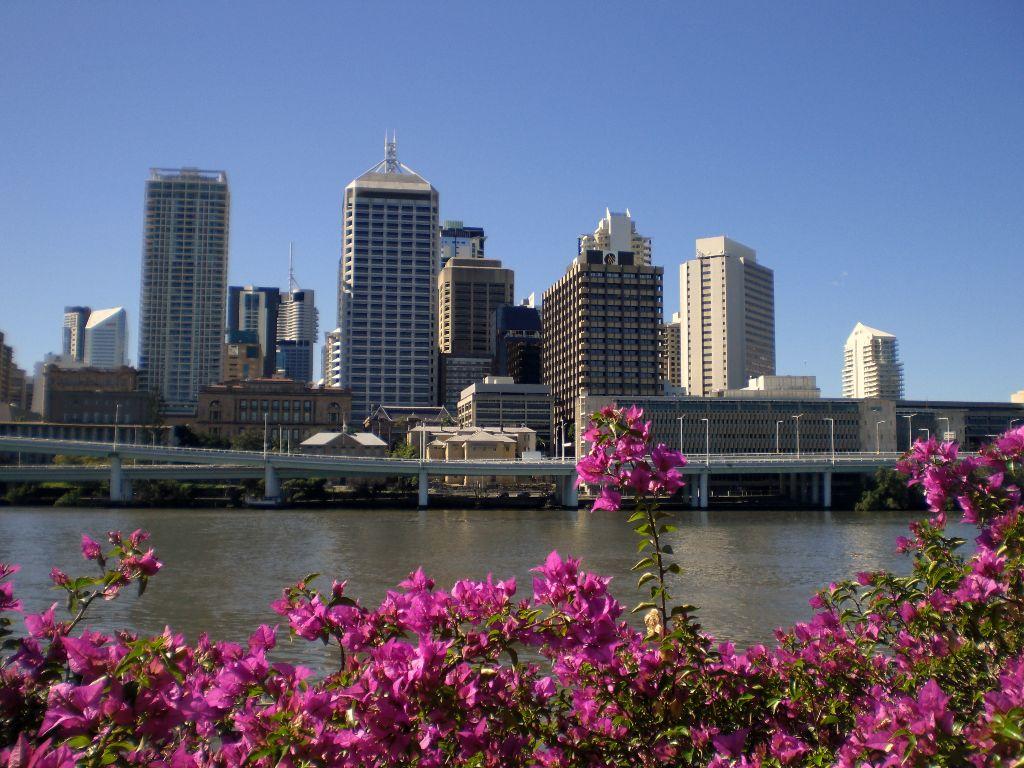 Skyline von Brisbane- Sehenswürdigkeiten Australien Ostküste – Reiseroute Australien Ostküste im Überblick