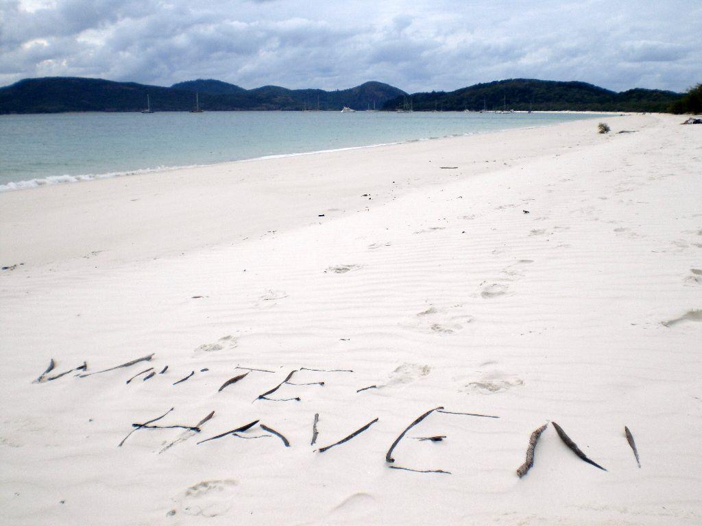 White Haven Beach auf den Whitsundays in Australien - ein Highlight an der Ostküste - Sehenswürdigkeiten Australien Ostküste – Reiseroute Australien Ostküste im Überblick