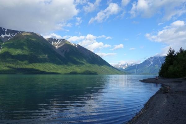 Wunderschöne Landschaft in Alaska