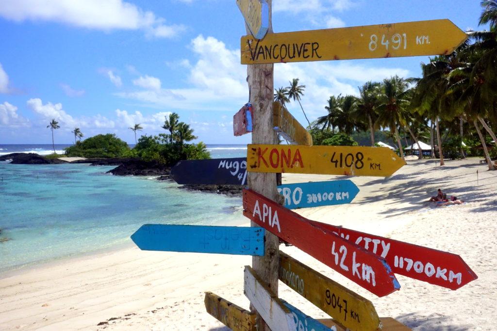 Matareva Beach in Samoa ist einer der schönsten Strände in Samoa laut unserem Samoa-Reisebericht