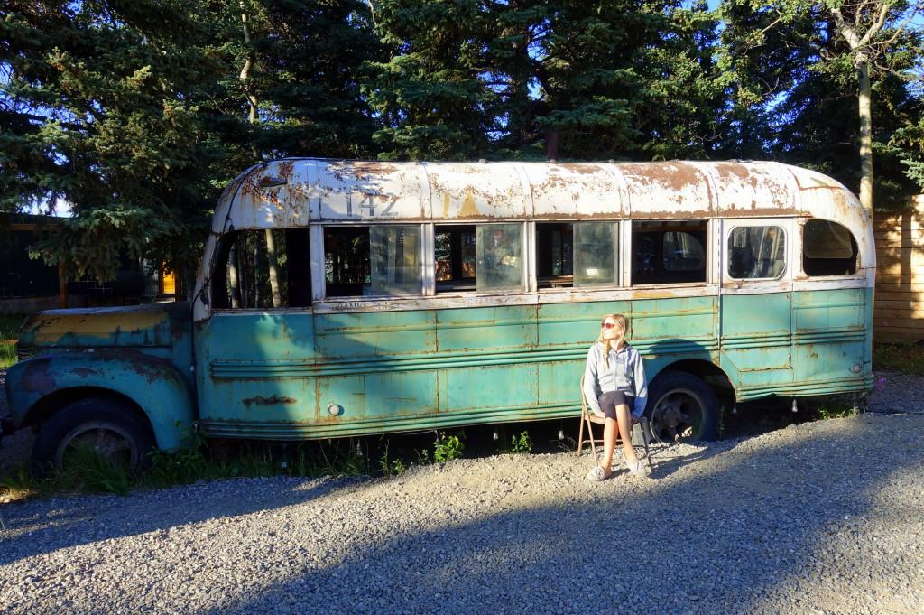 Sehenswürdigkeit auf deiner Rundreise in Alaska - Into the Wild Bus