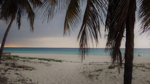 Backpacking in Kuba, Strand von Varadero