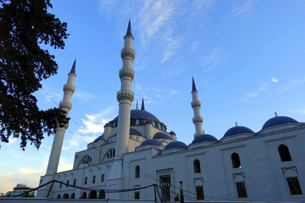 Sehenswürdigkeiten in Tirana: Moschee