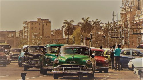 Backpacking in Kuba - Oldtimer in Havanna