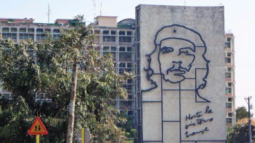 Sieht man an jeder Ecke - Das Konterfei von Che Guevara