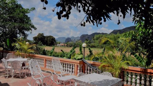 Wunderschöne Natur im Viñales-Tal. Kuba