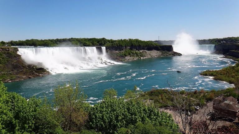 blick auf die Niagara-Fälle