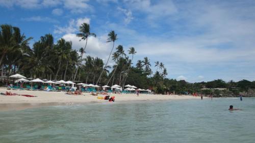 Alona Beach auf der Insel Bohol