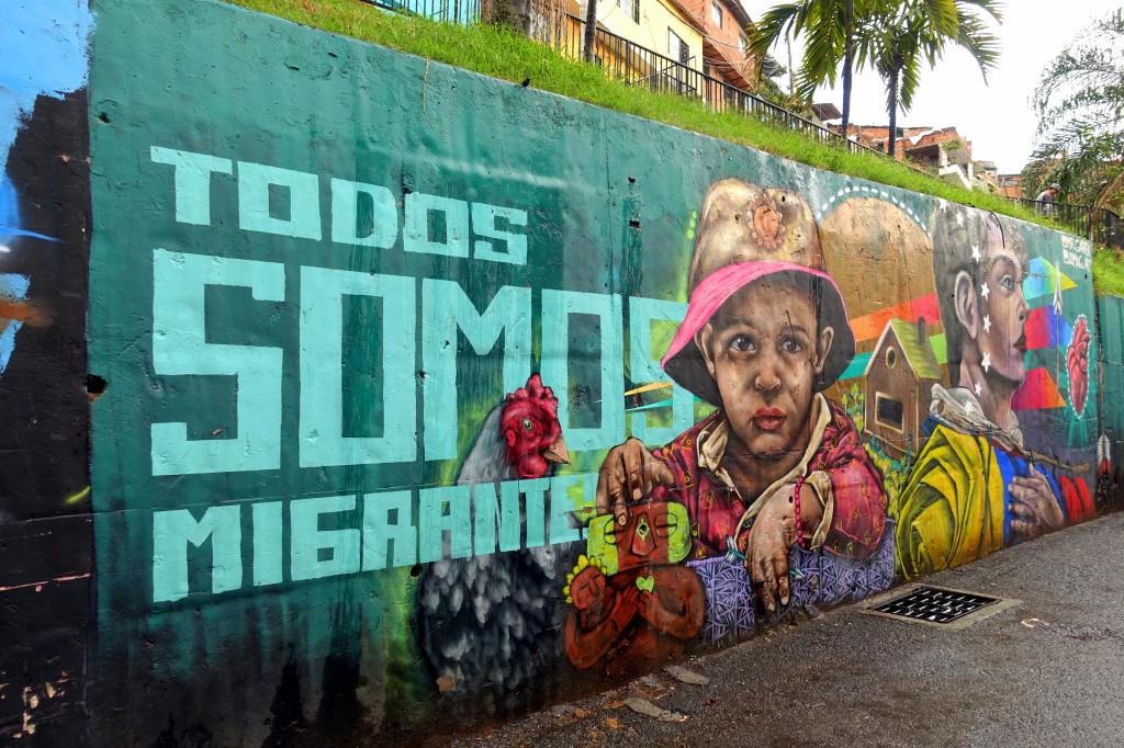 Sehenswürdigkeiten in Kolumbien: die Comuna 13 ist für Backpacker interessant