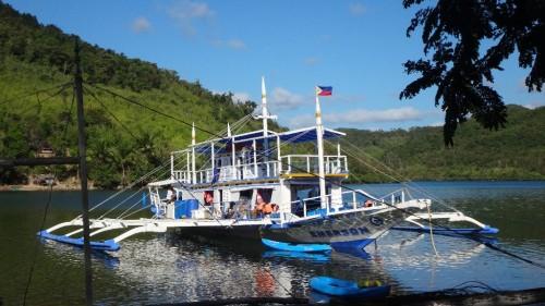 TAO Bootstrip auf den Philippinen