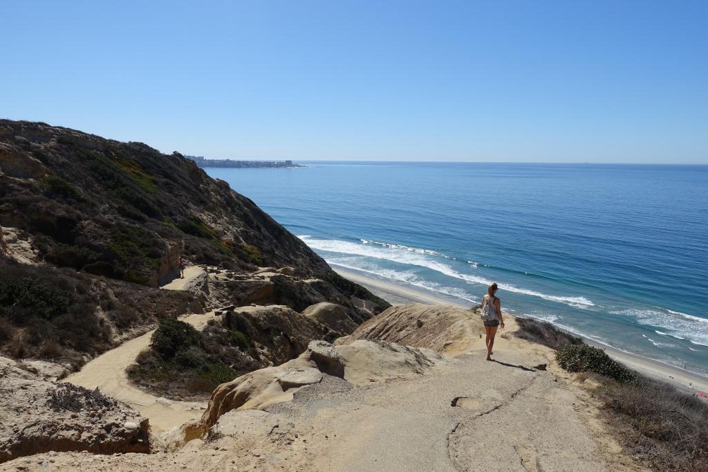 Rundreise an der Westküste der USA: Strand in San Diego