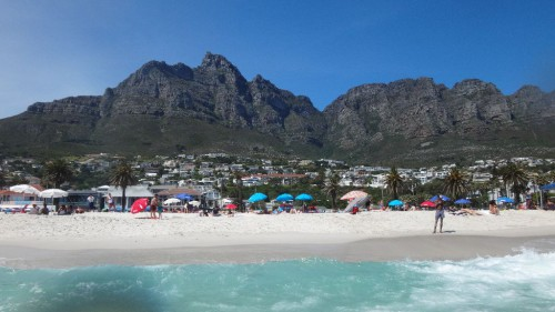 Camp's Bay - Wunderschöner Strand im Süden Kapstadt's