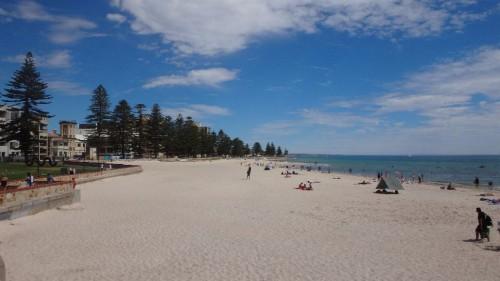 Glenelg ist der Stadtstrand in Adelaide