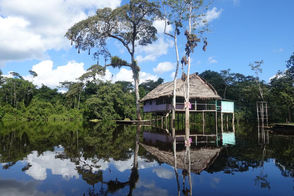 Regenwald-Unterkunft in Peru