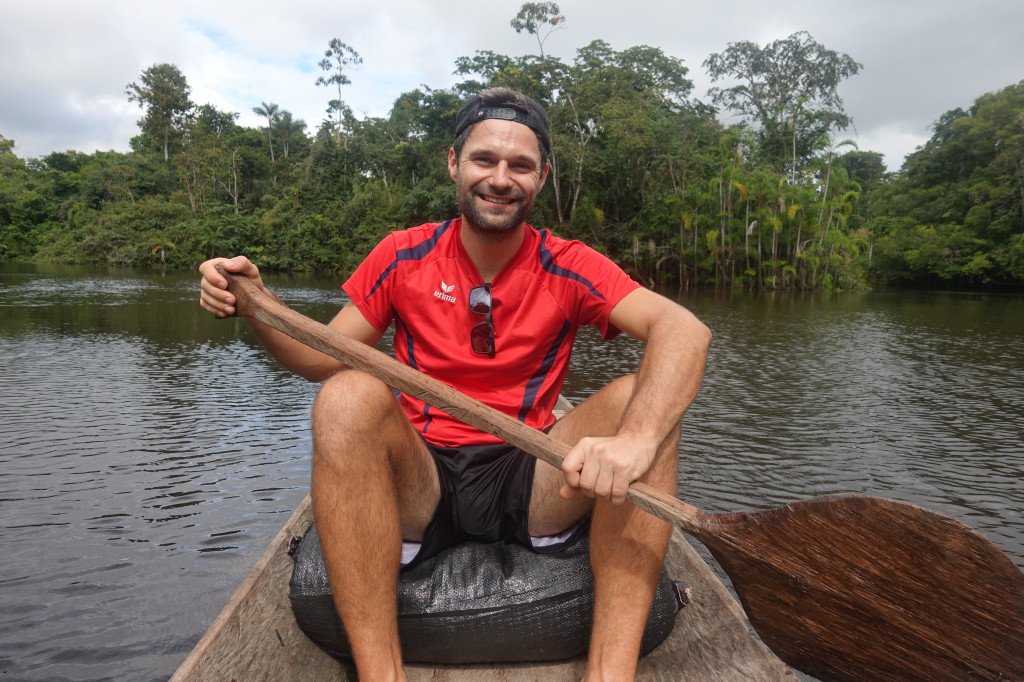 Kanu-Tour im Amazonas-Gebiet in Peru