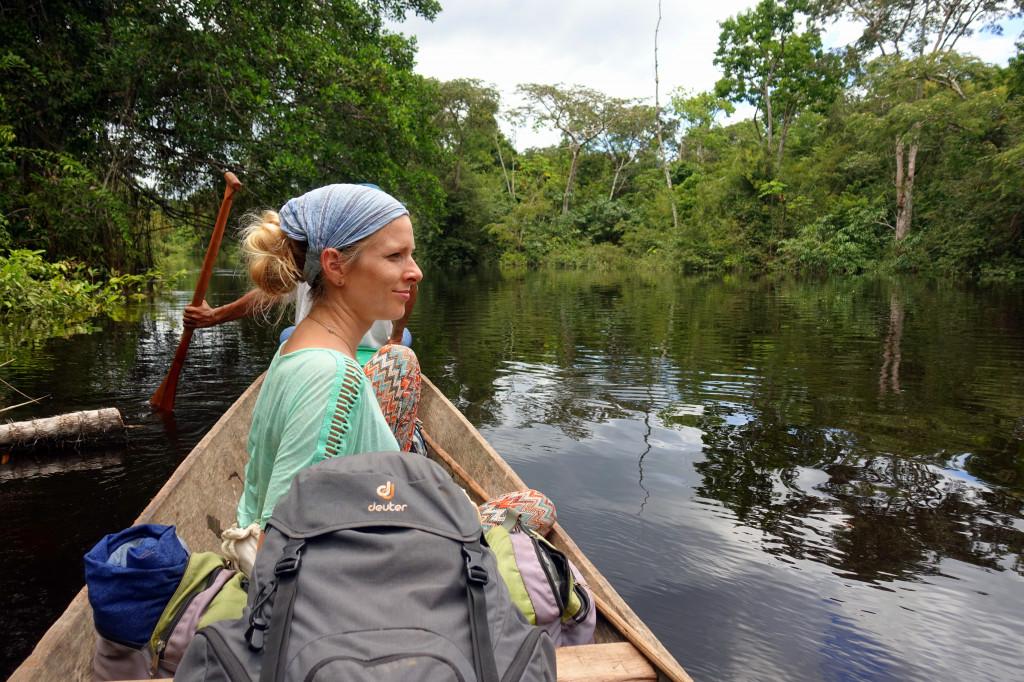 Kanu-Tour im Regenwald von Peru