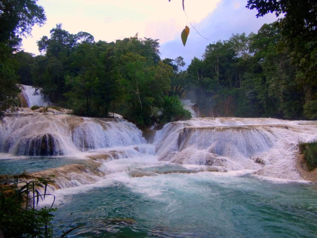Agua Azul Wasserfälle in Chiapas in Mexiko