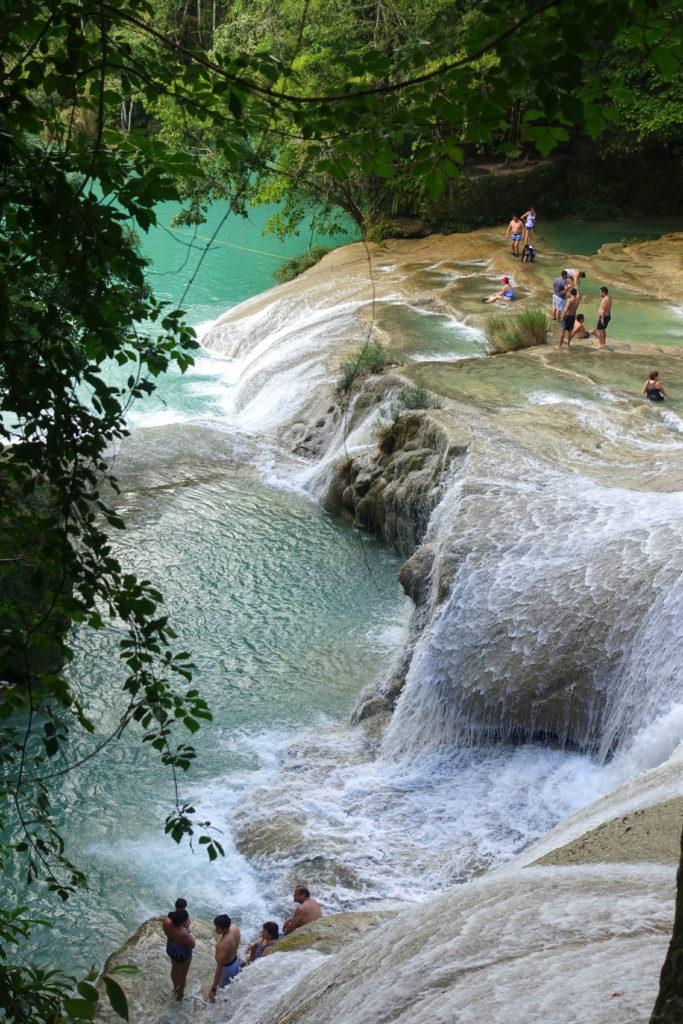 Sehenswürdigkeiten in Chiapas: Roberto Barrio Wasserfälle