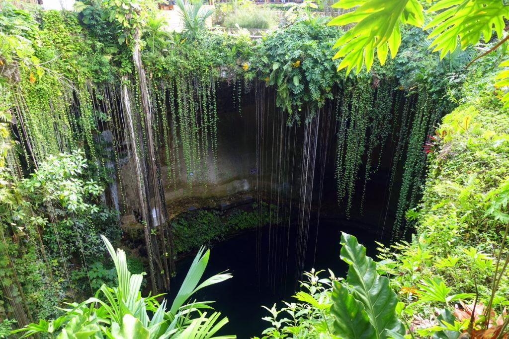 Cenote Ik Kil in Mexiko - Reisebericht über unsere Rundreise auf der Halbinsel Yucatán inklusive Campeche und Quintana Roo. Speziell für Backpacker in Mexiko und Rundreisen im Yucatán