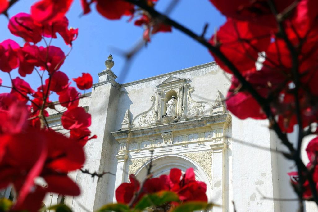 Backpacking in Guatemala - Guatemala Reiseroute & Sehenswürdigkeiten - wunderschönen Kolonialbauten und Kirchen in Antigua Guatemala