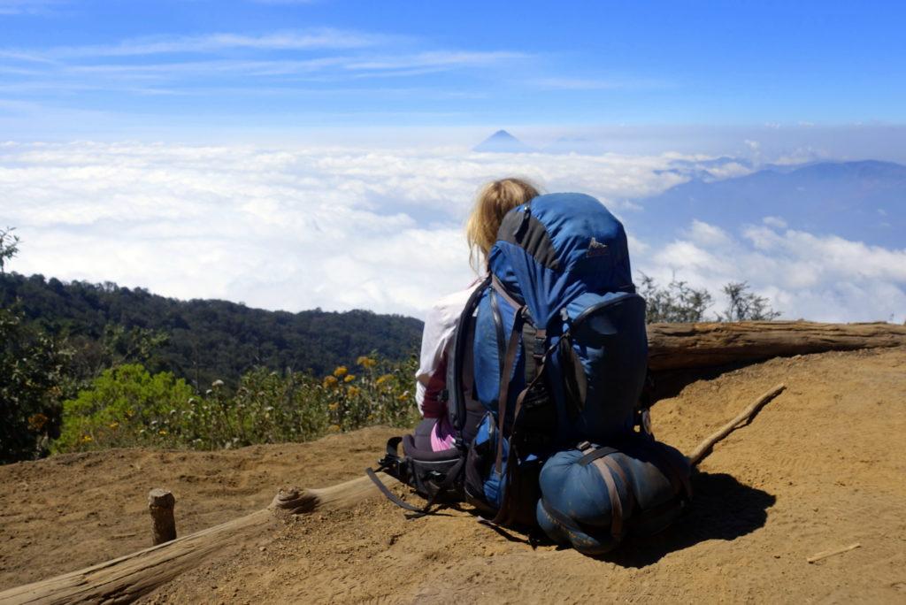 Backpacking in Guatemala - Guatemala Reiseroute & Sehenswürdigkeiten - Wanderung auf dem Vulkan Acatenango