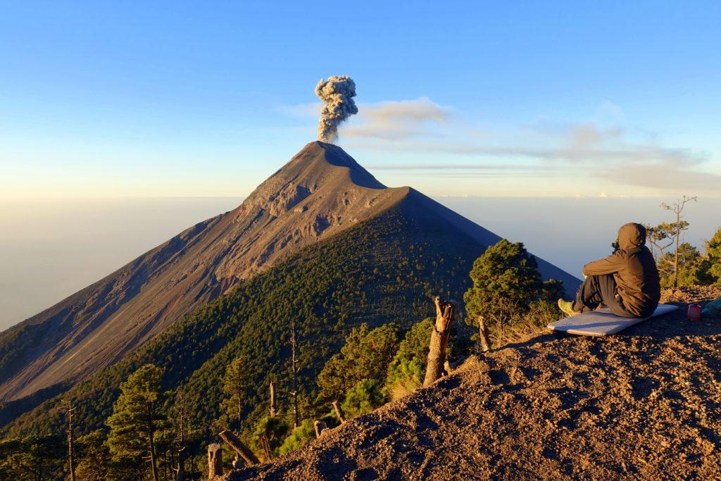 Vulkanausbruch Fuego - Guatemala-Reiseroute für Backpacking in Guatemala – unsere Tipps und Sehenswürdigkeiten in Guatemala