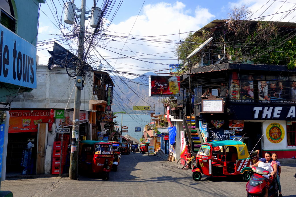 Backpacking in Guatemala - Guatemala Reiseroute & Sehenswürdigkeiten - San Pedro La Laguna