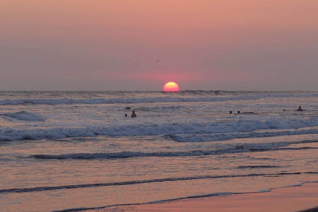 Guatemala-Reiseroute & Sehenswürdigkeiten - Sonnenuntergang