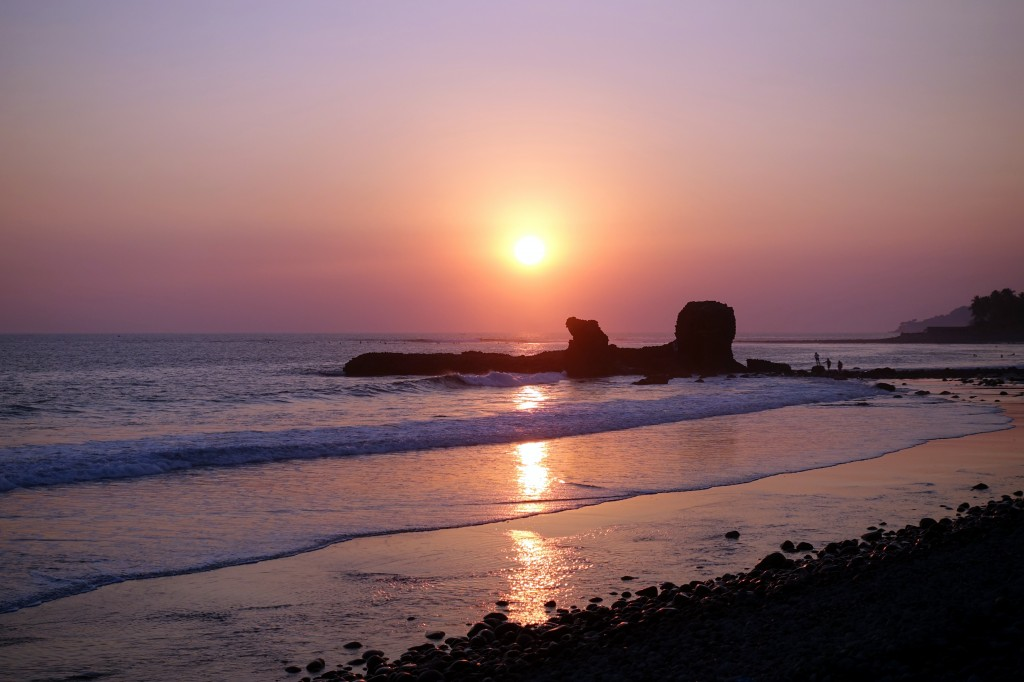 Sonnenuntergang in El Tunco