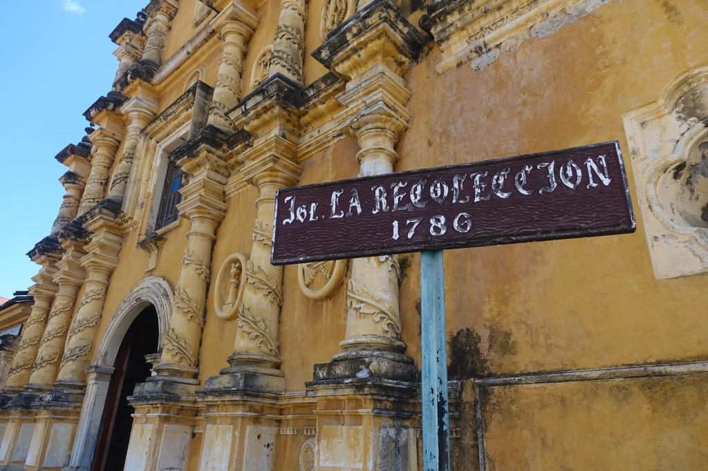 Wunderschöne Kirche in der Altstadt Leon's - Nicaragua Reisebericht