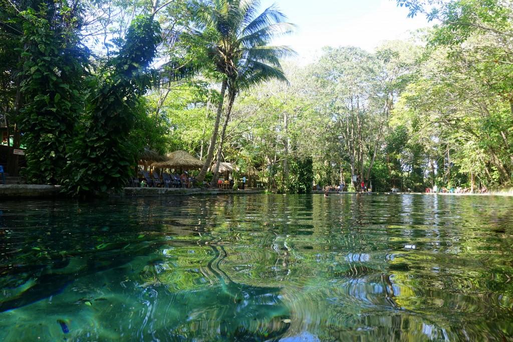 Natürliches Wasserbecken Ojo de Agua auf Ometepe - Nicaragua Reisebericht