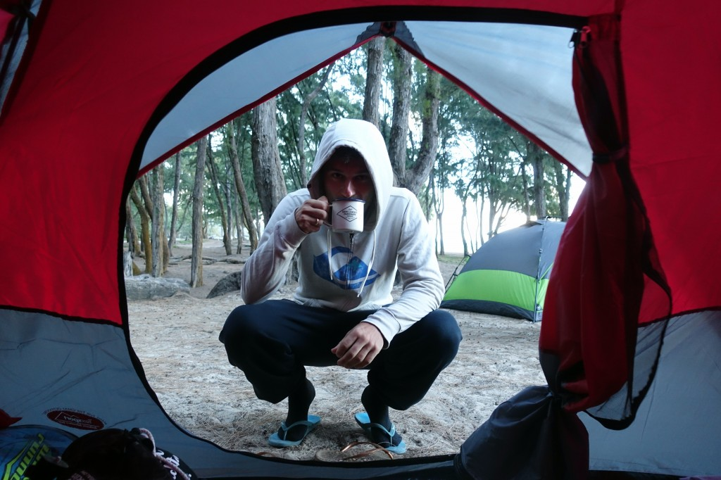 Camping auf Hawaii