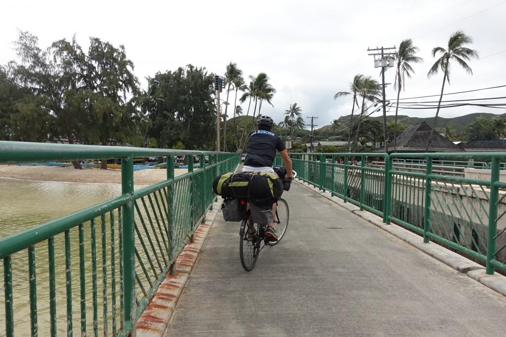 Mit dem Fahrrad auf Hawaii unterwegs