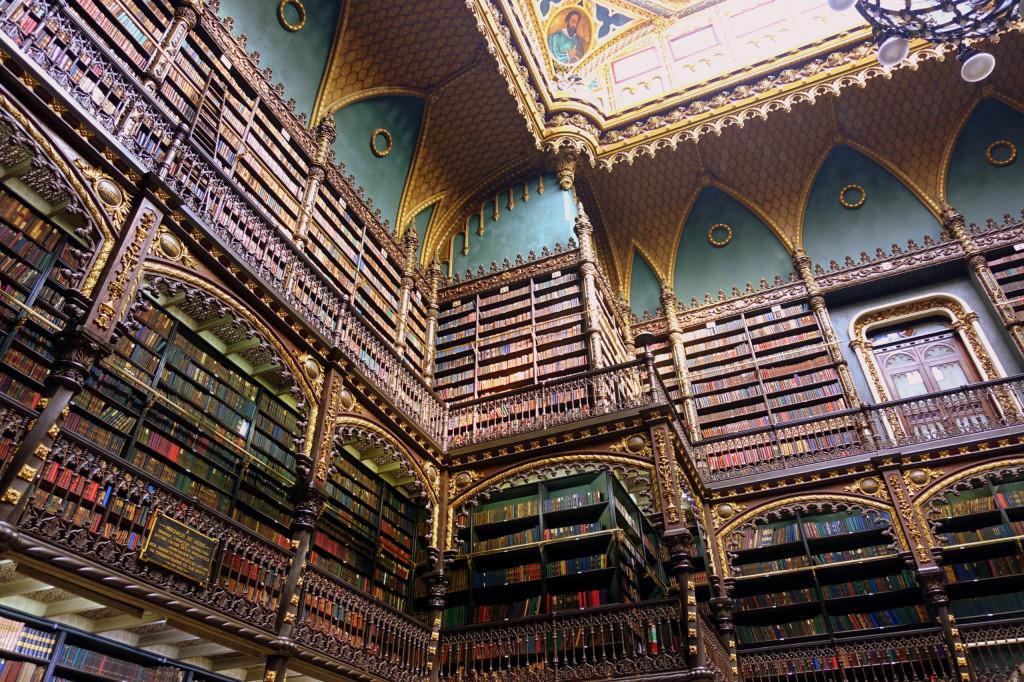 Geheimtipps in Rio de Janeiro: Der Royal Portuguese Reading Room im Harry Potter Stil