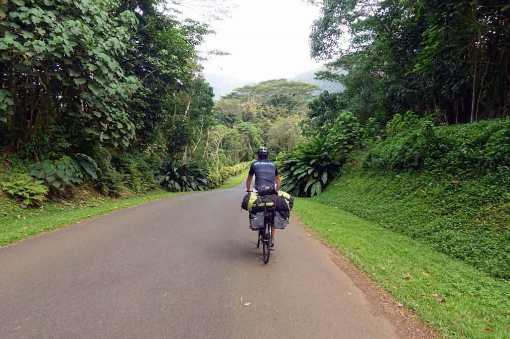 Höhenmeter auf Hawaii mit dem Fahrrad