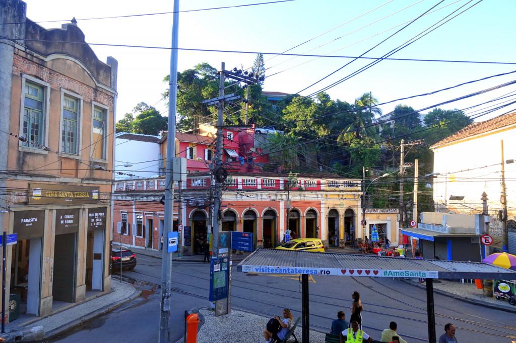 Der Largo do Guimarães in Santa Teresa ist eine der Sehenswürdigkeiten in Rio de Janeiro