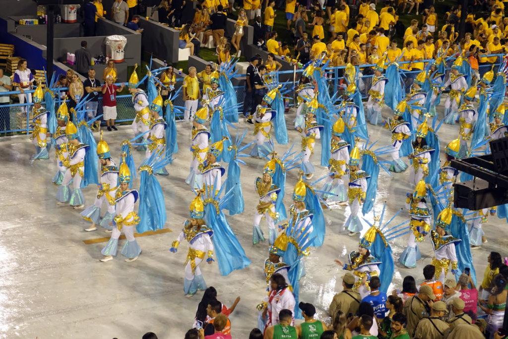 Karneval in Rio - bei der Parade mittanzen